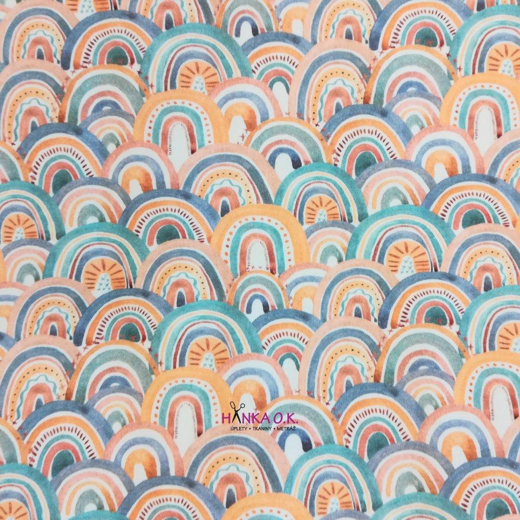 Úplet pastelové duhy 200g