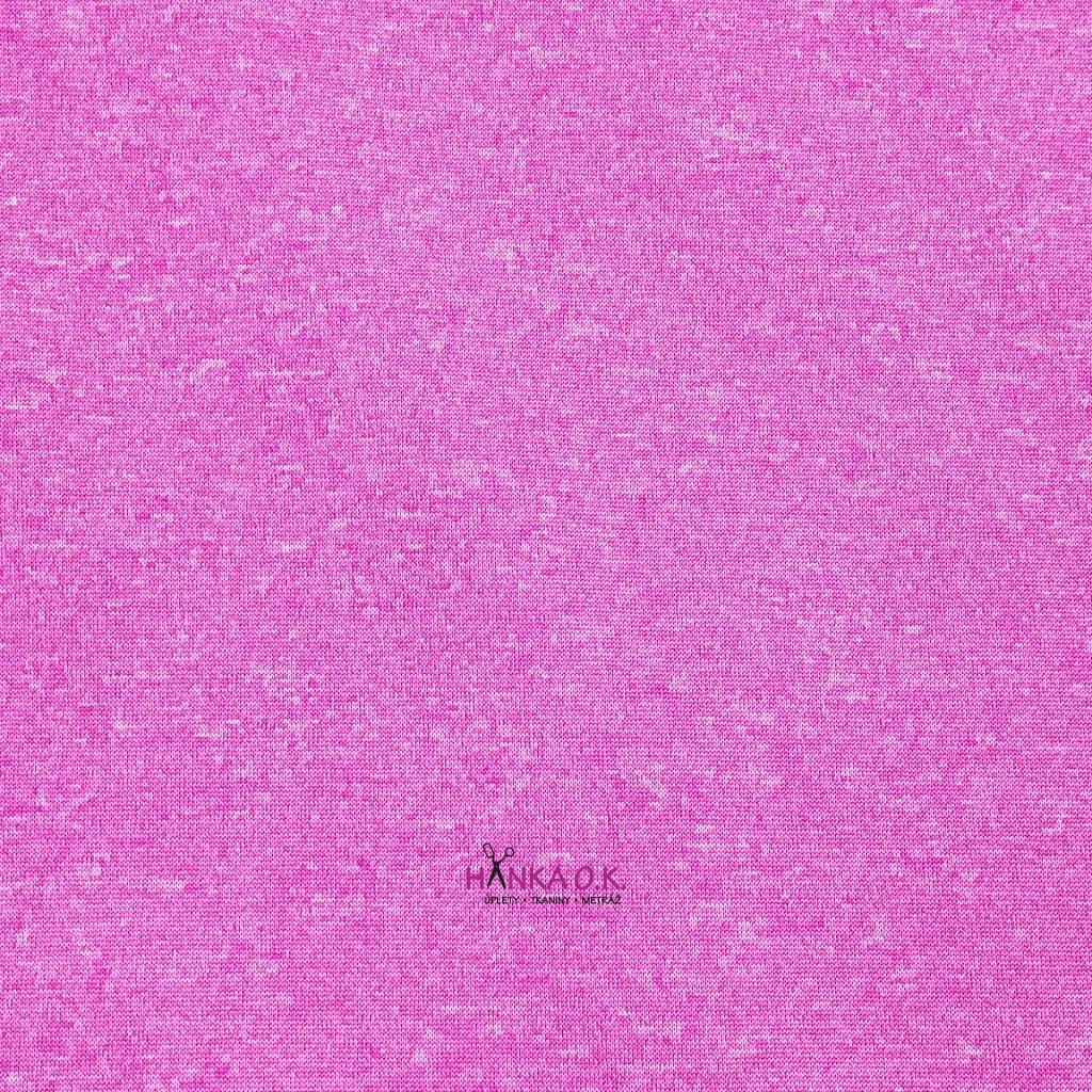 Softshell letní růžový melír pružný s membránou