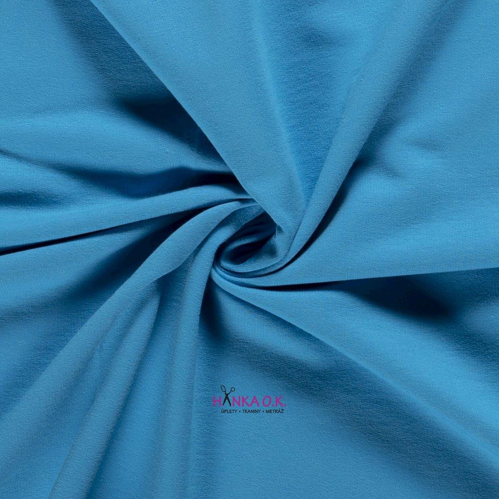 teplakovina modra světlá