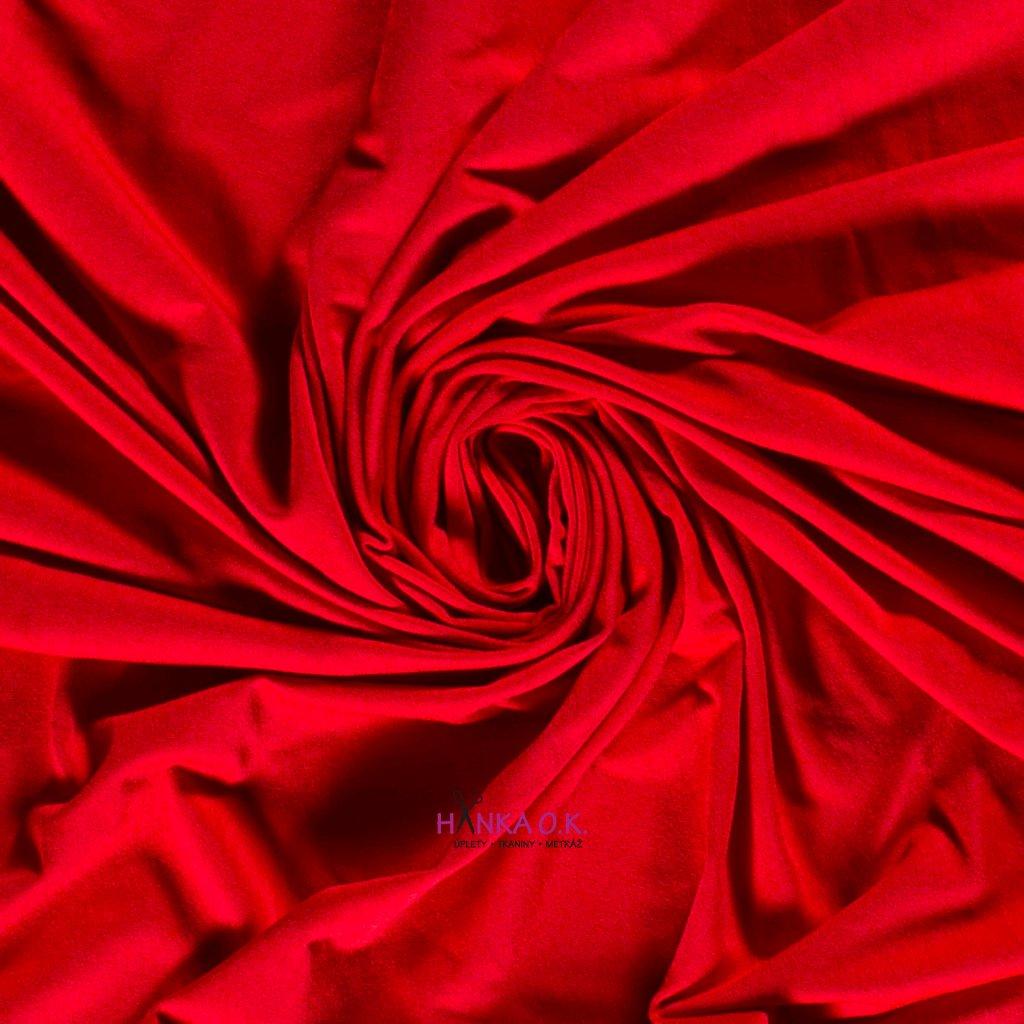 bambusový úplet červená