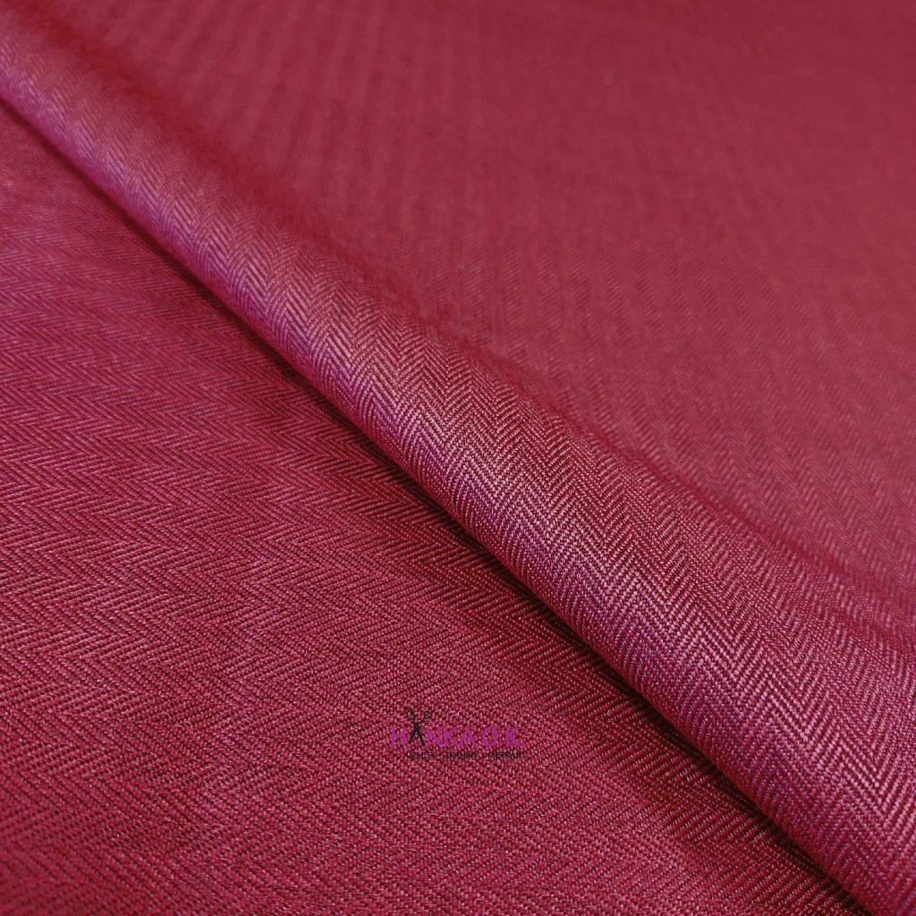 Softshell zimní 3 vrstvý, vzor rybí kosti, 380g - červená vínová