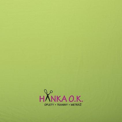 teplákovina zelená světlá french terryx