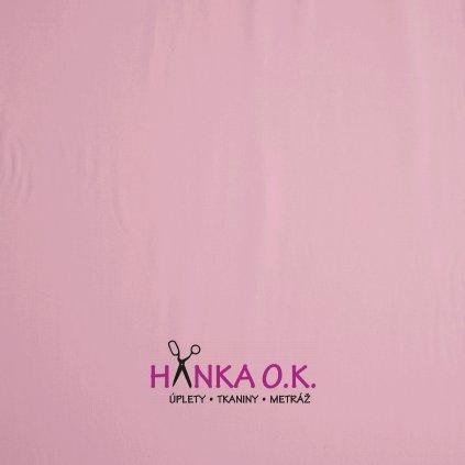 teplákovina růžová světlá french terryx