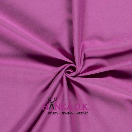 Úplet jednolícní růžová purple 235g