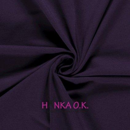 Teplákovina fialová lilek 250g