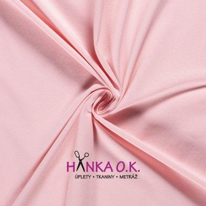 Úplet jednolícní růžová světlá light pink 235g