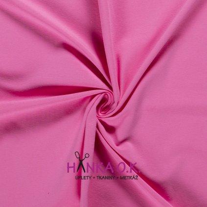 Úplet jednolícní růžová pink 235g