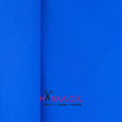 popelín modrá royal