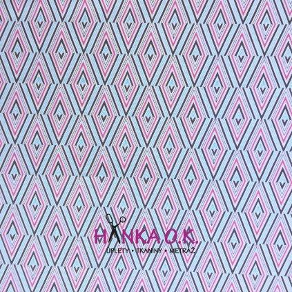 Bavlněná tkanina -  americké plátno 145g - Etno | Art Gallery
