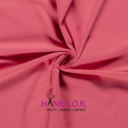 Úplet jednolícní dark pink 235g