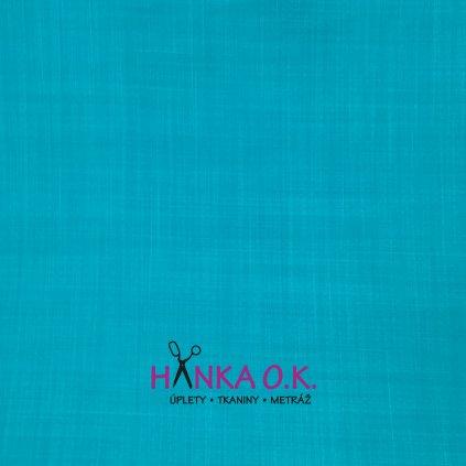 Softshell jarní modrý aqua žíhaný s membránou