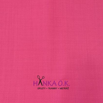 Softshell jarní růžový fuchsiový žíhaný s membránou