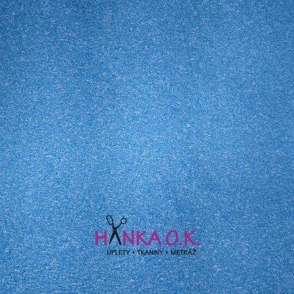 Softshell letní modrý melír pružný s membránou