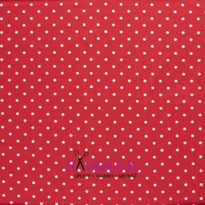 červený puntík úplet