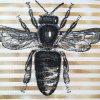 Panel na tašku kočárkovina včela