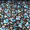 Softshell zimní 3 vrstvý ibišek černá, 320g