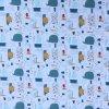Bavlněná tkanina - plátno 130g - lahvová pošta