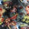 Teplákovina nepočesaná digitisk Avengers 240g