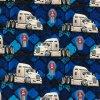 Teplákovina nepočesaná digitisk truck 240g