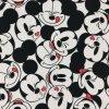 Teplákovina nepočesaná digitisk vysmátý Mickey 240g