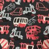 Teplákovina (french terry úplet) počesaná 240g dino bus