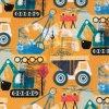 Úplet digipotisk stavební stroje na okrové 200g