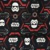 Teplákovina nepočesaná digitisk Star Wars s červenou 240g