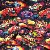 Teplákovina nepočesaná digitisk auta Cars 240g