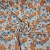 Úplet lišky s modrými květinami 200g