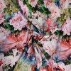 Viskozový úplet 200g - rozkvetlá zahrada digitisk