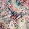 Viskózová tkanina květinový vzor 110g