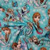 Teplákovina nepočesaná Anna, Elsa a Olaf 240g