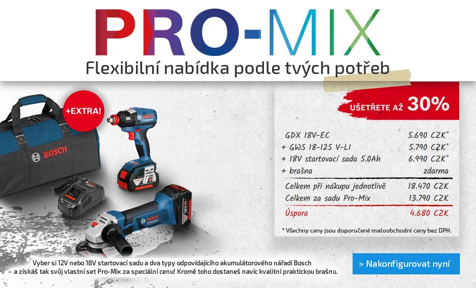 Promix - flexibilní nabídka podle tvých potřeb