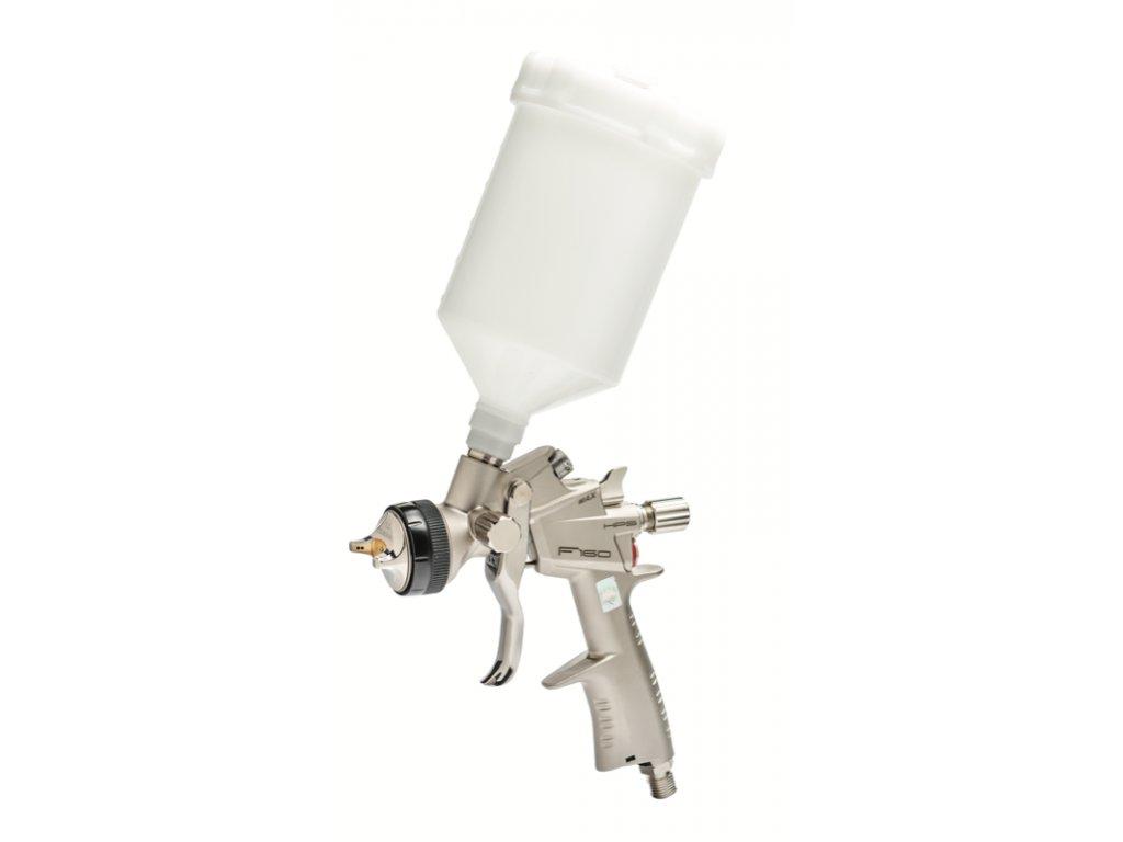 Stříkací pistole systému HVLP pro stříkání středních a velkých ploch s horní.