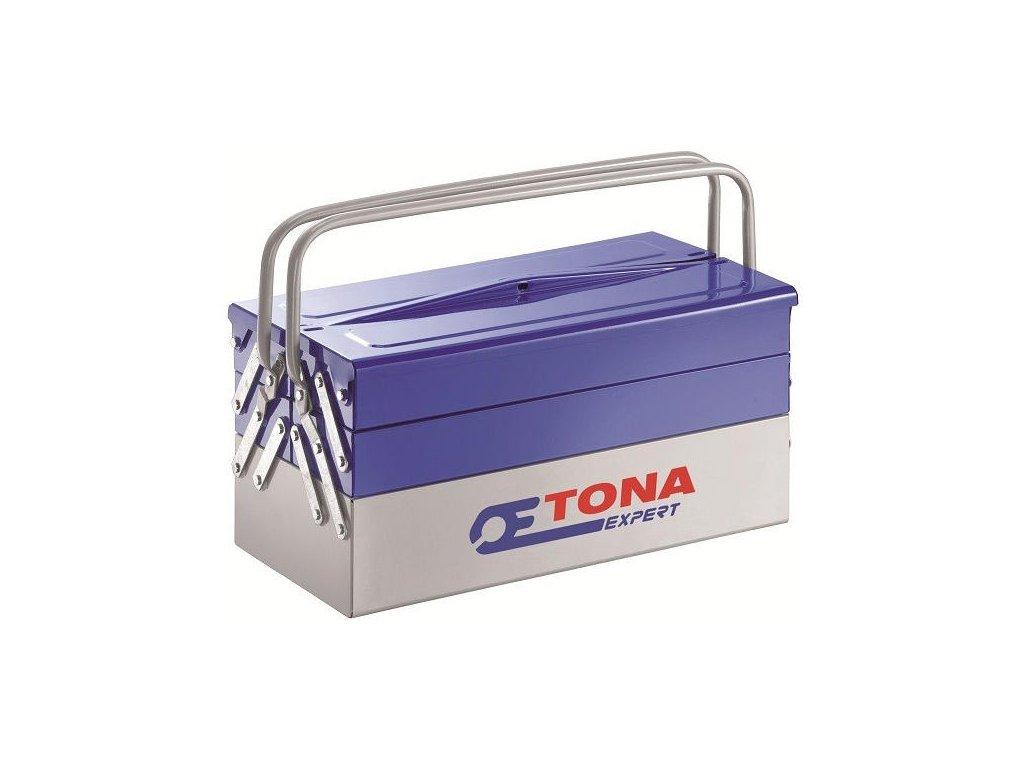 TONA Box rozkládací plechový 5 sekcí