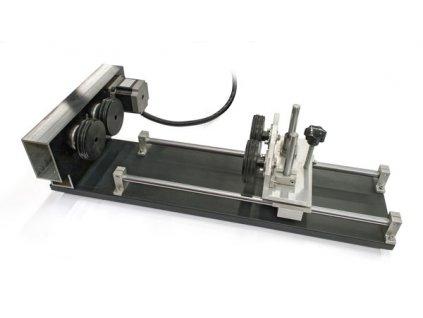Rotační osa pro laser s otočnými koly