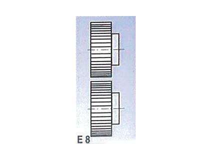 Rolny typ E8 (pro SBM 140-12 a 140-12 E)