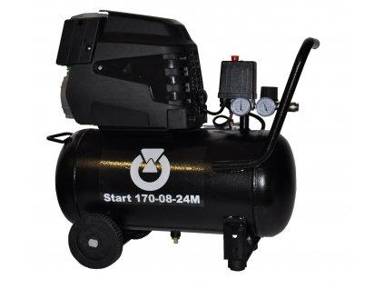 114428 start 170 08 24m pojizdny pistovy kompresor start 1 1 kw