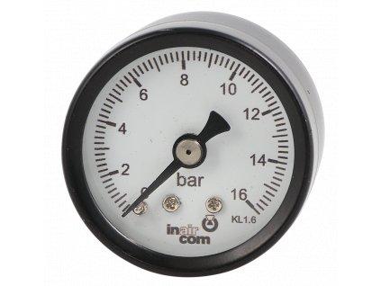 119309 manometr zadni vyvod 63mm 1 4 0 6bar
