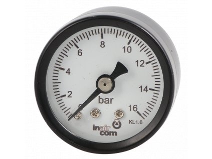 119315 manometr zadni vyvod 63mm 1 4 0 25bar