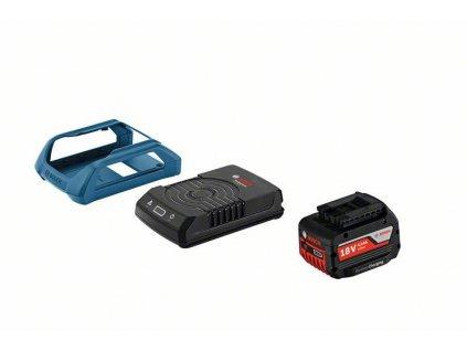 BOSCH Startovací sada Wireless Charging GBA 18V 1x 4.0Ah MW-C + GAL 1830 W + rámeček