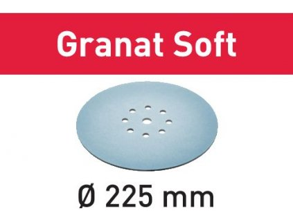 Brusné kotouče STF D225 P320 GR S/25 Granat Soft