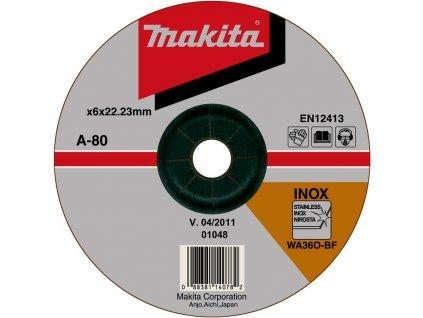 Brusný kotouč 180x6x22 nerez - A-80880