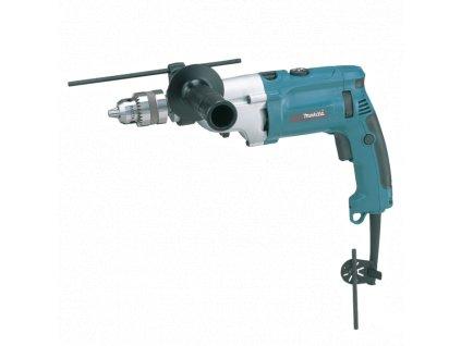 Příklepová vrtačka 1,5-13mm,2rychlosti,1010W,Makpac - HP2070J