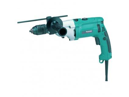 Příklepová vrtačka,rychlosklíčidlo 1,5-13mm,2rychlosti,1010W,Makpac - HP2071J