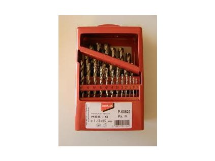 Sada vrtáků do kovu HSS-G 1-13mm (po 0,5mm), 25ks - P-60523