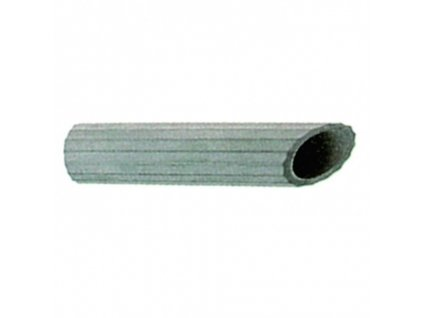 Šikmá hadicová hubice-pryž 160mm 443,446L - W5067