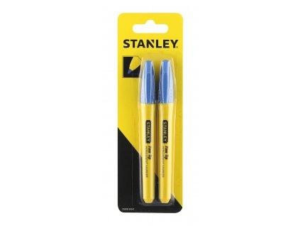 Permanentní popisovač modrý 2ks STANLEY STHT81390-0