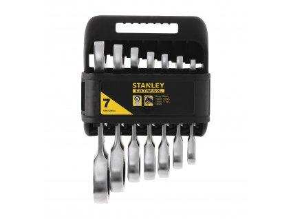 Sada krátkých ráčnových klíčů 7dílná FatMax STANLEY FMMT82900-0