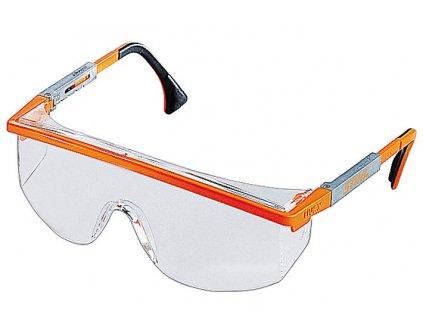 Ochranné brýle - bílé